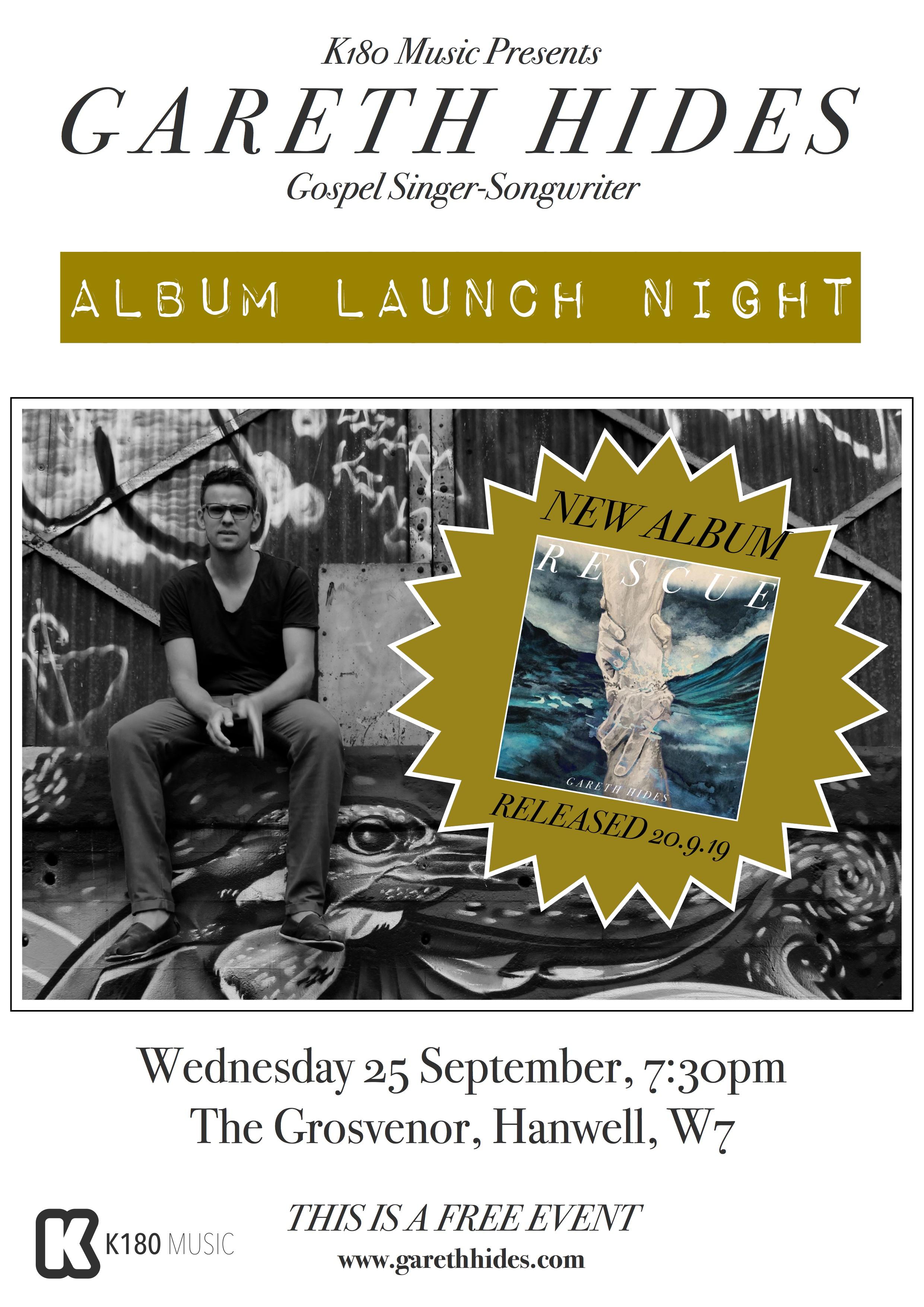 Rescue Album Launch